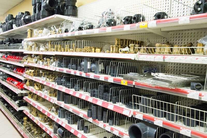 Sección materiales de fontanería Castrogres, Castro Urdiales