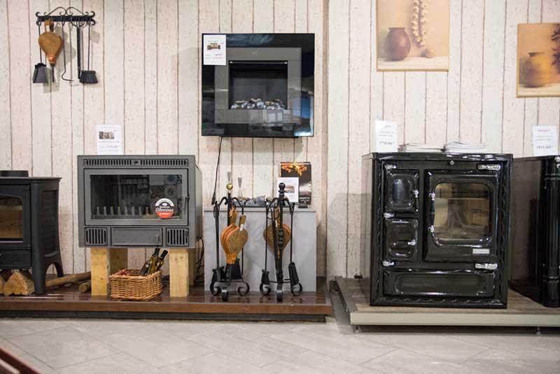 Estufas y cocinas de leña en Castrogres