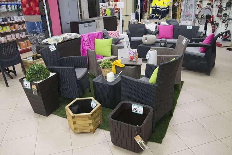 Muebles de jardín, Castrogres